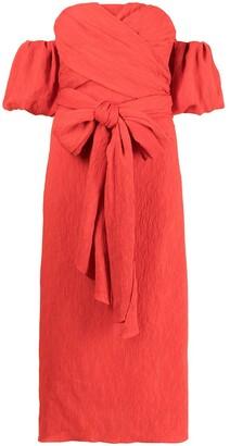 Johanna Ortiz Fine Love midi dress