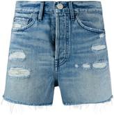 3x1 Jayson ripped detail shorts