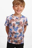 boohoo Boys Pineapple Printed Tee multi