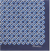 Corneliani Chain-link silk pocket square