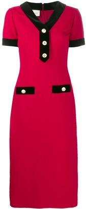 Gucci Buttoned Midi Dress