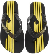 Giorgio Armani Emporio Flip Flops Black