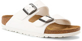 Birkenstock Women's Arizona White Sole