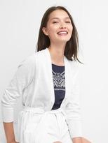 Gap Linen tie-belt cardigan