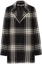 McQ by Alexander McQueen Checked Wool-Blend Coat
