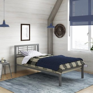 DHP YourZone Kids' Metal Platform Bed, Multiple Sizes, Multiple Colors