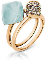 Michael Kors Semiprecious Stacked Ring Set