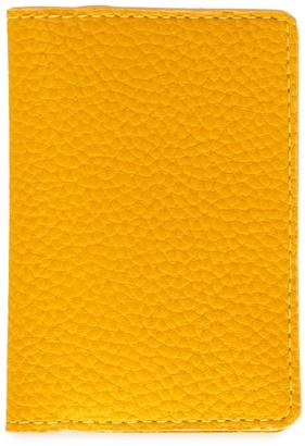 Passport Cover In Ripe Mango