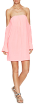 T-Bags LosAngeles Solid Gathered Dress