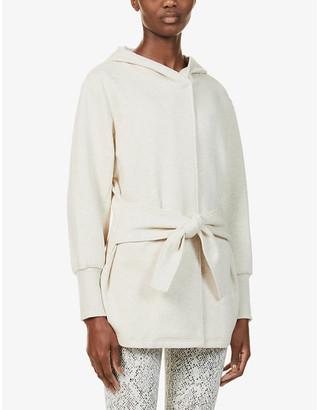 Varley Cove hooded cotton-blend sweatshirt