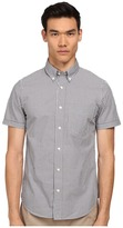 Jack Spade Maddox Gingham Shirt Men's Short Sleeve Button Up