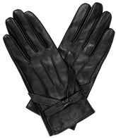 "Oasis LEATHER BOW GLOVE [span class=""variation_color_heading""]- Black[/span]"