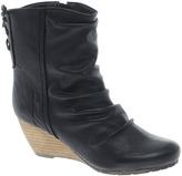 London Rebel Wedge Boot