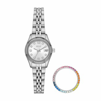 Relic By Fossil Relic Women's Keira Quartz Watch with Stainless Steel Strap