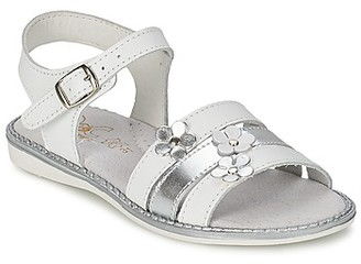 Citrouille et Compagnie KATAGUE girls's Sandals in White