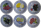 One Kings Lane Vintage French Faience Dessert Plates S/6