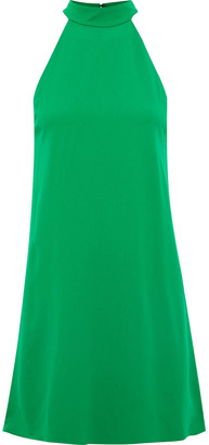 Alice + Olivia Susanna Crepe Mini Dress