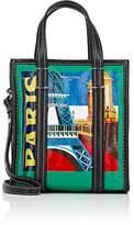 Balenciaga Women's Arena Leather Bazar Extra-Small Shopper Tote Bag