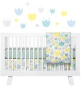 Babyletto 'Garden' Crib Sheet, Crib Skirt, Stroller Blanket & Wall Decals