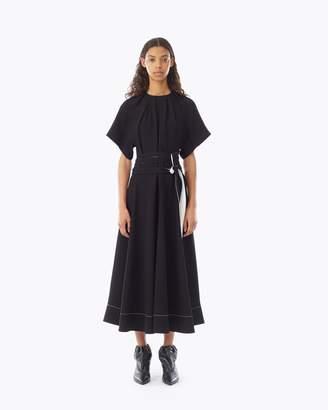 3.1 Phillip Lim Short Sleeve Fit & Flare Dress