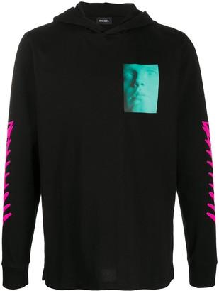 Diesel T-Just-LS hooded sweatshirt