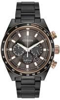 Citizen Men's Eco-Drive Sports Chrono Two-tone Bracelet Watch
