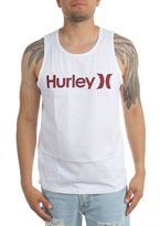 Hurley Mens One & Only Push Through Tank-Top Top , Size:, Color: