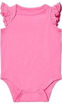 Gap Pixie Dust Pink Eyelet Lace Baby Body