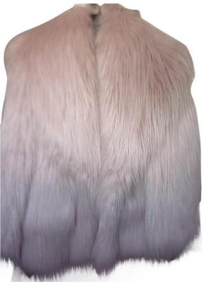 Miu Miu Pink Faux fur Jacket for Women