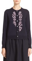 Comme des Garcons Women's Beaded Cardigan