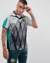 Puma X Daily Paper Football T-shirt In Grey 57417039