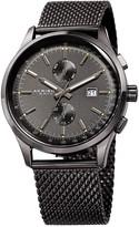 Akribos XXIV Men's Multifunction Stainless Steel Mesh Bracelet Watch