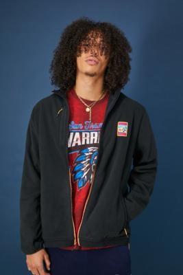 adidas Adiplore Zip-Through Fleece Jacket - Black S at Urban Outfitters