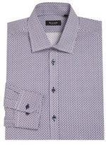 Sand Regular Fit Dotted Dress Shirt