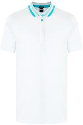 HUGO BOSS Stripe Detail Polo Shirt
