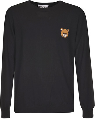 Moschino Teddy Bear Embroidered Sweater