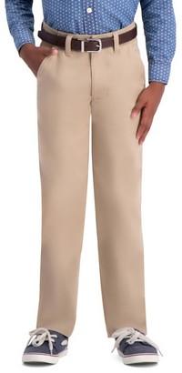 Haggar Boys 8-20 Sustainable Slim-Fit Chino Pants