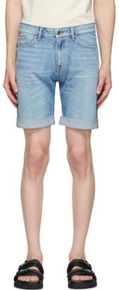Tiger of Sweden Blue Denim Ash Shorts