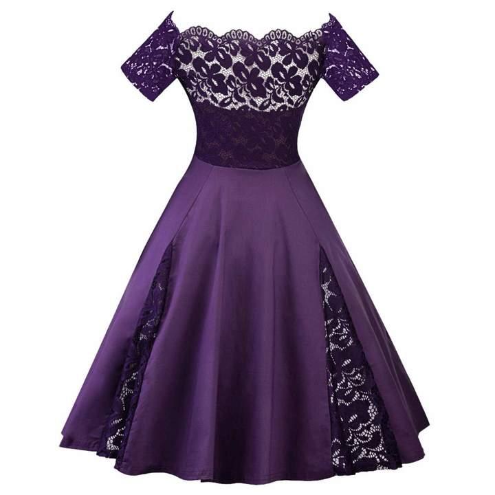 56f7393d4493 Purple Mini Party Dress - ShopStyle Canada