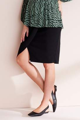 Next Womens Black Maternity Workwear Pencil Skirt - Black