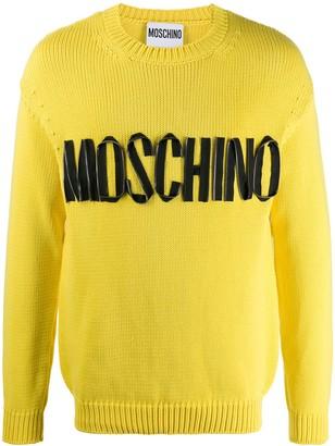 Moschino Zip Logo Jumper
