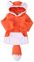 E-SHA Toddler Baby Girls Cute Fox Hoodie Pullover Cape Cloak Hooded Coat Outerwear