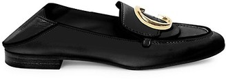 Chloé C Leather Loafers