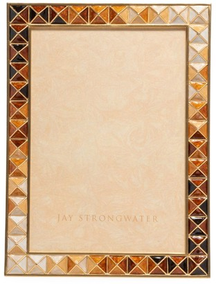 Jay Strongwater Mosaic Pyramid Picture Frame