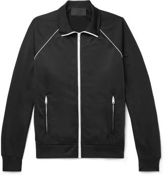 Prada Shell-Trimmed Tech-Jersey Track Jacket