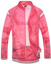 Santic Women's Windproof UV Protection Cycling Jacket Long Sleeve Wind Coat
