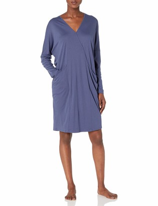Hanro Women's Mona Long Sleeve Gown