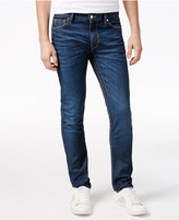 GUESS Men's Slim-Fit Taper Rally Blue Jeans