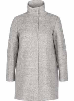Zizzi Women's Wollmantel Coat