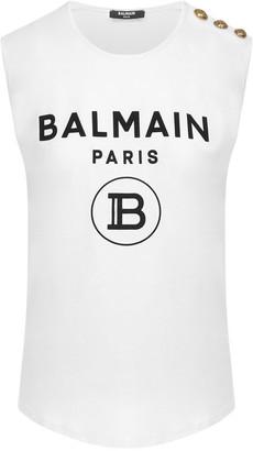 Balmain Paris Tank Top